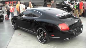 bentley forgiato dubsandtires com 2010 bentley coupe 22 u0027 u0027 chrome black blaque