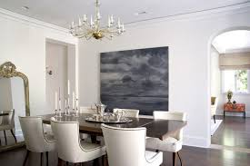 Houzz Dining Chairs Dining Chairs Houzz Dining Room Transitional With Wall Decor