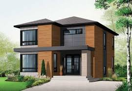 contemporary home design plans contemporary style house plans plan 5 1087