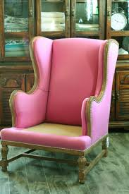 Wingback Chairs Leather The 25 Best Wingback Chair Covers Ideas On Pinterest Wingback