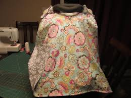 Free Carseat Canopy Pattern by Home Made Car Seat Canopy 04 05 2014 Youtube