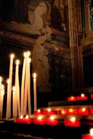 vigil lights catholic church prayer candles strasbourg cathedral strasbourg and cathedrals