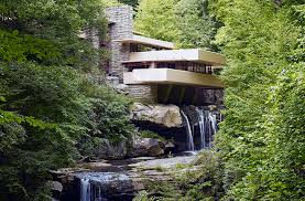 frank lloyd wright waterfall frank lloyd wright fallingwater article khan academy