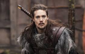 viking warrior hair wallpaper rawhide armor long hair blade prince ragnar man