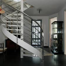 Spiral Stair Handrail Spiral Stair Railing Sharma Weldings Works Manufacturer In