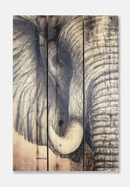 Wall Art Designs Elephant Wall Art African Elephant Cedar Wall