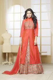 new latest designer party wear indo western dress at rs 1230