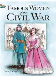 famous women civil war coloring book american civil war
