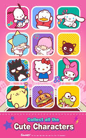 kitty music party kawaii cute android apps