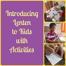 Rosary For Kids Worksheets Introducing Lenten To Kids With Activities Blessed Learners