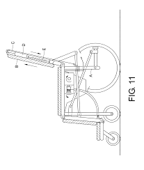 patent us8359685 wheelchair with a commode that converts into a