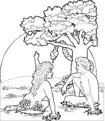 garden of eden clipart creation story pencil and in color garden