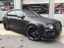 custom bentley bentayga black bentley bentayga satinblack on instagram