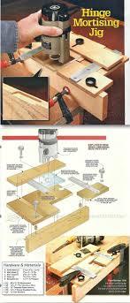 cabinet door router jig hinge mortising jig cabinet door construction techniques
