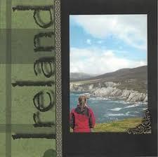 ireland photo album image result for ireland scrapbook layouts travel layouts