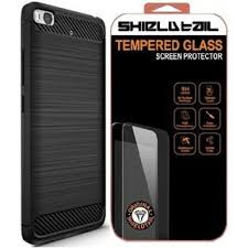 shtl carbon tpu armor for xiaomi mi5s black