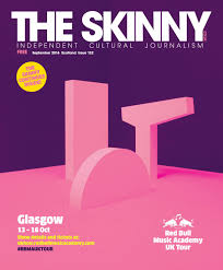 the skinny scotland september 2016 cover wrap edition by the