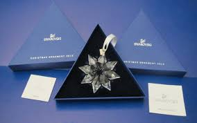 swarovski annual edition 2014 crystal snowflake ornament available