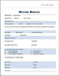 meeting minutes format word meeting minutes templates for word