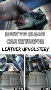 How To Get Ink Out Of Leather Sofa by Learn How To Clean Car Interior Leather Upholstery Cleaning