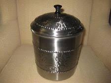stainless steel kitchen cookie jars ebay