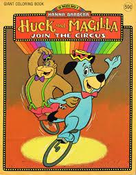 the huckleberry hound show hanna barbera huckleberry hound u0026 magilla gorilla coloring u2026 flickr