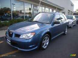 subaru hatchback 2007 2007 newport blue pearl subaru impreza 2 5i wagon 19653824