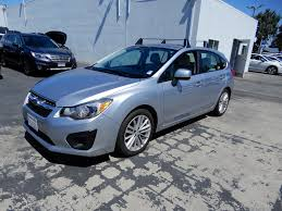 blue subaru hatchback used 2014 subaru impreza 2 0i premium in san francisco u0026 silicon