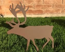 reindeer yard etsy