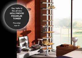 Modern Cat Trees Furniture by New Hollywood Franklin Cat Tower Uses Ikea Elvarli System To