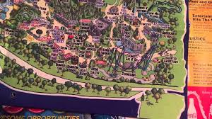 Cedar Fair Parks Map Theme Park Maps Youtube