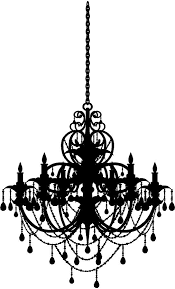 Chandelier Wall Decal Chandelier Wall Art Decal Thesecretconsul Com