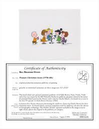 auction howardlowery com schulz peanuts animation publicity cel
