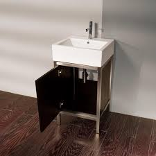 19 Inch Bathroom Vanity 19 u201d lacava quadro steel 7774 bathroom vanity bathroom vanities
