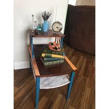Nightstand Bookshelf Vintage Table Restoration U2014 The Considerate Thief