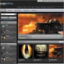 33 amazing gaming website templates free u0026 premium wpfreeware