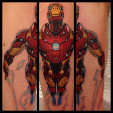 iron man comic book tattoo by danetattoo on deviantart