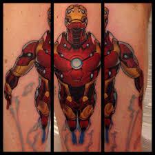 iron man comic book tattoo by danetattoo on deviantart