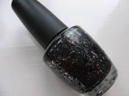 nail of the day black u0026 blue glitter u2013 chyaz