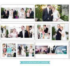wedding album templates clean style 12x12 wedding album template birdesign