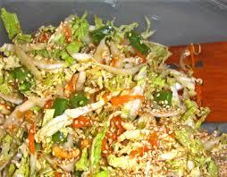 napa salad asian inspired napa cabbage salad heller