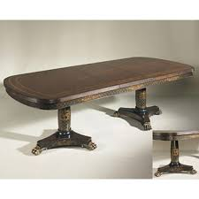 Maitland Smith Coffee Table Smith Antique Mahogany Finished Veneer Dining Table Black And
