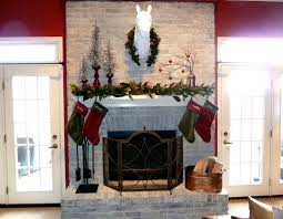 christmas mantel our fifth house