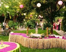 Patio Party Decorations Decorate A Easter Spring Party Table Ideas Home Designs