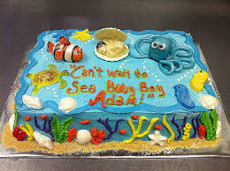 the sea baby shower baby shower cakes the sea cakes for baby shower