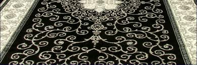 Rugs Black Royal Traditional Medallion Rug U003cbr U003e 7224c Black Cream Royal