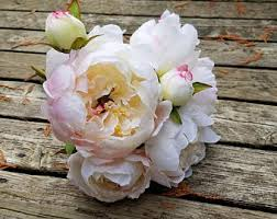 Faux Peonies Artificial Peony Etsy