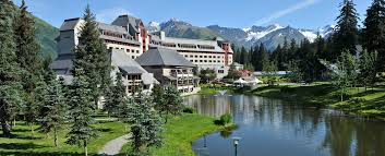 Alaska On A Map by Alaska Vacation Hotel Reservations Alyeska Luxury Resort