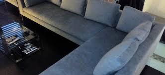 canape d angle alcantara canapé d angle en l alcantara atelier millet