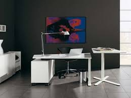 Modern Office Table Design Wood White Office Desk Photo Decorate A White Office Desk With
